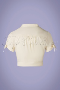 Banned 33093 Pussy Top Creme White 20 014W