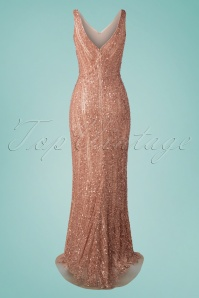 GatsbyLady 32685 Sophie Dress Rose Gold 20 011W