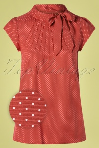 Circus 31441 Top Red Pindot Tie 10292019 003Z