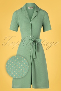 Circus 31434 Swingdress Green Duckegg 10252019 006Z