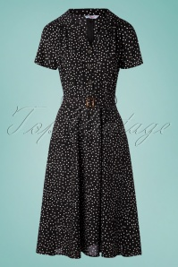 Banned 33174 Swingdress Black Polkadots 40s 20200218 001W