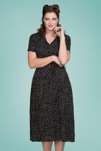 Banned 33174 Black Spot Dress 20191105 020L