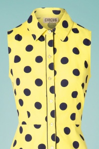 Circus 31432 Swingdress Sunpindot Yellow 10252019 004V