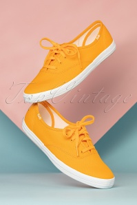 Keds Champion Seasonal Sneakers Années 50 en Jaune