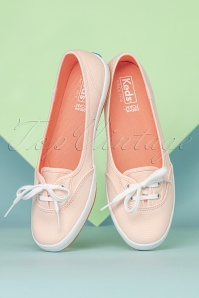 Keds 31389 Teacup Canvas Light Pink ballerina sneakers 02172020 012W
