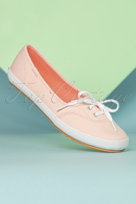 Keds 31389 Teacup Canvas Light Pink ballerina sneakers 02172020 007W
