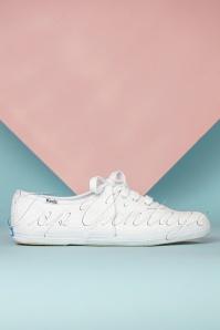 Keds 31385 Daisy eyelet White sneakers 02172020 007W