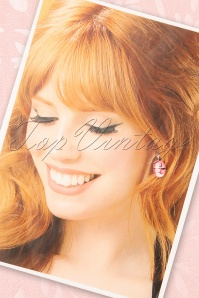 Sweet Cherry 33499 Earrings Pink Audrey 20200217 002W