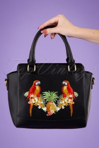 Banned 32598 Seychelles Tropical Bag Black 042M W