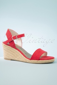 Tamaris 33559 Sandals Red 20200217 003 W