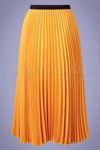 Closet 33812 Swingskri Yellow Pleate 200218 006W