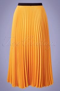 Closet 33812 Swingskri Yellow Pleate 200218 006W