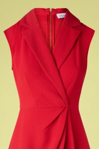 Closet 33813 Wrapdress Red 200218 003V