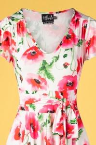 Bunny 33217 Swindress Aquarelle Floral Red 200218 003V