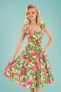 Hearts & Roses 32842 Swing White Floral 023L
