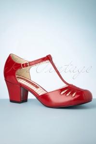 Bait Footwear 33759 Red Heels Tstrap Robbie 200220 008 W
