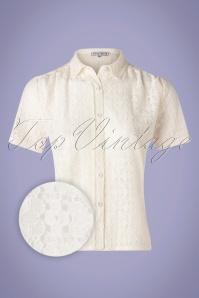 Verry Cherry 31506 Montmarte Blouse Lace Creme20191224 005Z