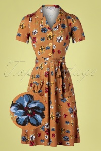 Verry Cherry 31503 Revers Dress Tricot Corniglia Flowers20191224 002Z