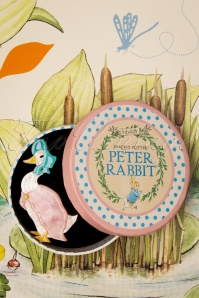 Erstwilder 33922 Jemima Pudding Duck Brooch Rabbit Peter Cute Brown Blue Pink 200225 016 W