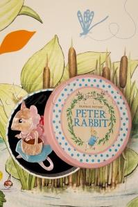 Erstwilder 33923 Mrs Tittlemouse Bunny Brooch Rabbit Peter Cute Red Brown Beige pink Blue 200225 015 W