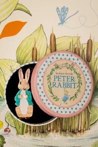 Erstwilder 33924 Bunny Brooch Rabbit Peter Cute Brown Blue 200225 014 W