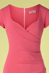 Vintage Chic 33350 Pencildress Pink 200218 006V