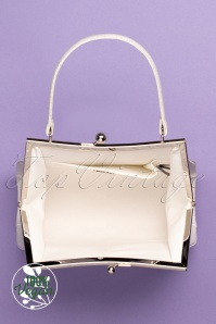 Ruby Shoo 31489 Toulouse White 20 024W vegan logo