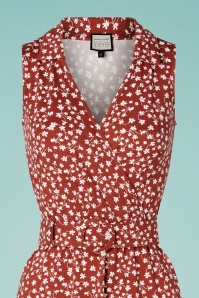 Mademoiselle Yeye 31942 Alinedress Boogaloo Red Floral 200225 006V
