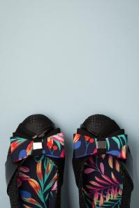 Ruby Shoo 31467 Tatum Black Bow Removable Heels 200218 012
