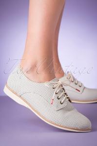 Rollie Shoes 31395 Derby Punch French Derby Geo White Dream 200220 006 W