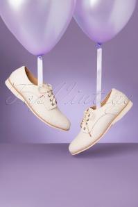 Rollie Shoes 31394 Derby Geo White 200219 029 W