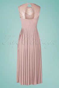 Little Mistress 32247 Maxidress Old Pink Paietten 200226 012W