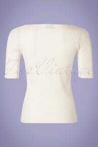 Campania Fantastica 32301 Jersey Jumper White Cubeneck 200226 004W
