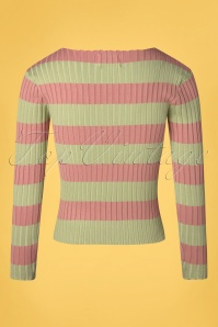 Compania Fantasia 32306 Jersey Jumper Green pink 27022020 008W