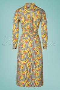 Compania Fantasia 32295 Vestido Dress Banana 27022020 018W