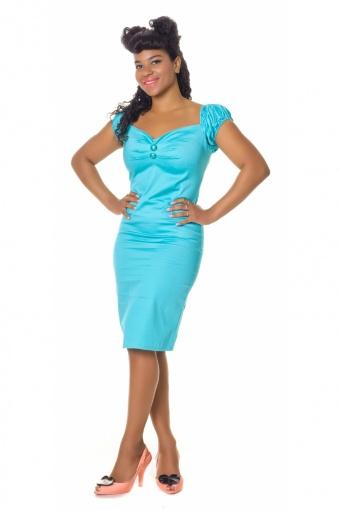 Dolores dress cotton ocean website
