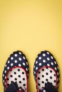 Ruby Shoo Daisy Black Spots