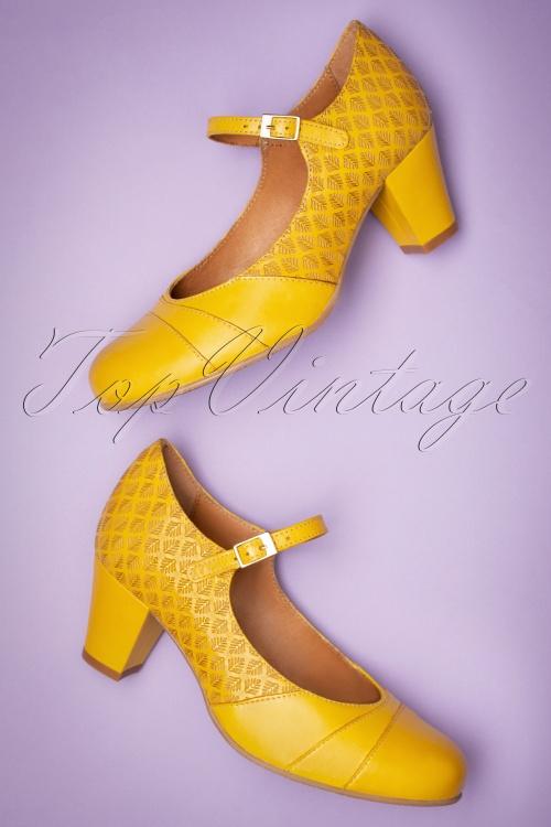Chic Femme Rétro 60 S Chaussures Talons Mod Vintage England Bleu Rose Mary Jane Escarpins