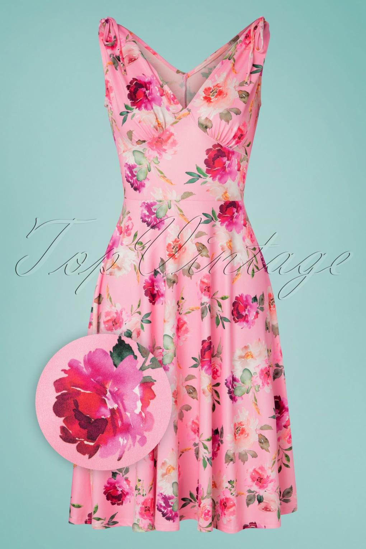 Ana Rose 50s ana rose dress in pink