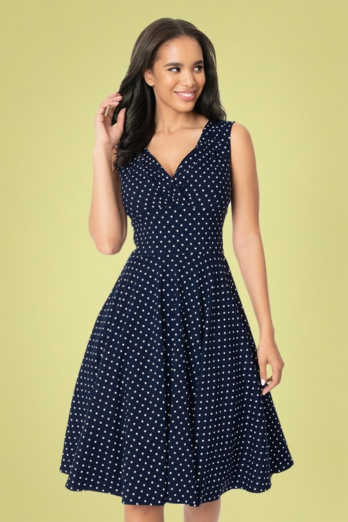 Banned SALLY SWING CHECK DRESS