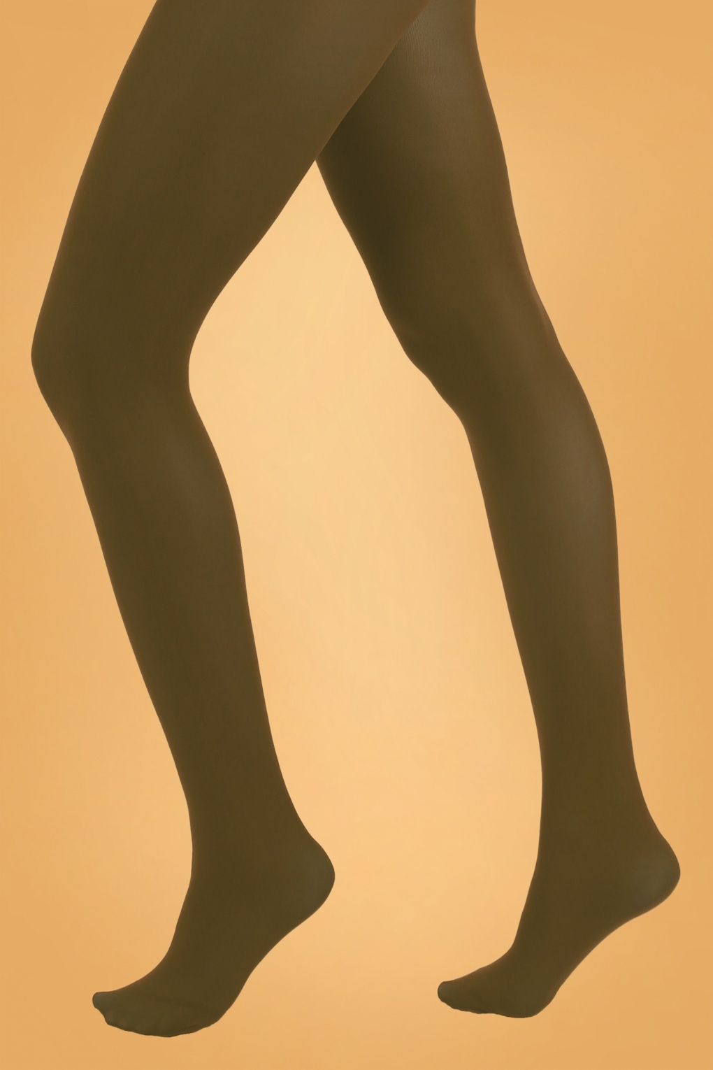 1960s Tights, Stockings, Panty Hose, Knee High Socks 60s Opaque Tights in Dark Olive £7.07 AT vintagedancer.com