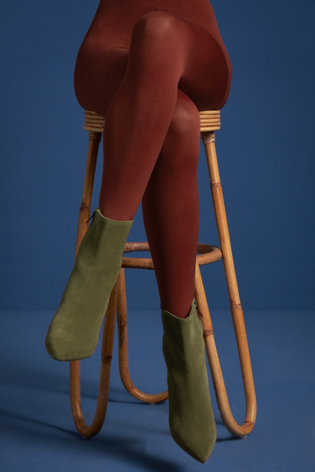 1960s Tights, Stockings, Panty Hose, Knee High Socks 60s Solid Tights in Sandelwood Brown £13.52 AT vintagedancer.com