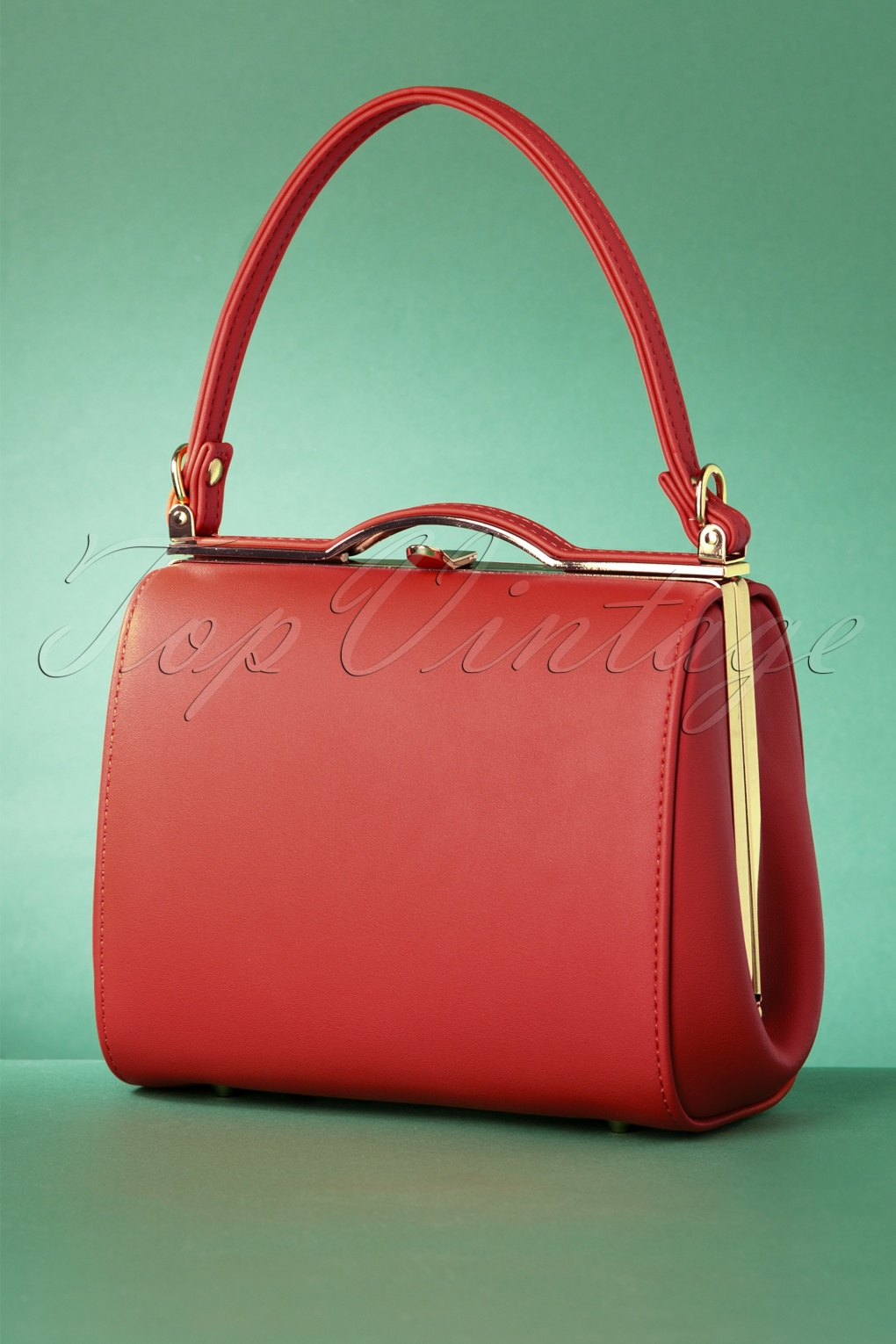 60s Fancy Dress and Quality Clothing 1960s UK 60s Carrie Bag in Red £41.24 AT vintagedancer.com