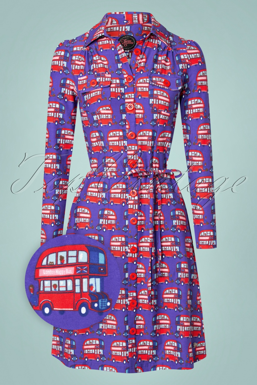 1960s Style Dresses, Clothing, Shoes UK 60s Betsy London Dress in Purple £86.73 AT vintagedancer.com