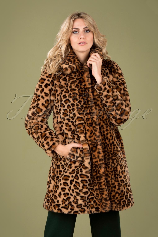 1960s Style Dresses, Clothing, Shoes UK 60s Betty Tigresse Coat in Beige £136.70 AT vintagedancer.com
