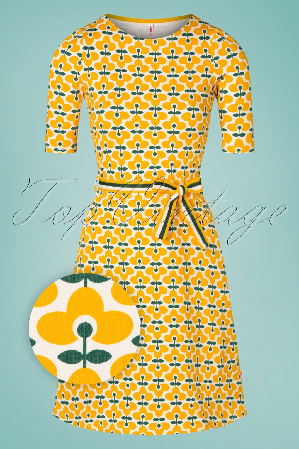 60s Dresses | 1960s Dresses Mod, Mini, Hippie 60s So Frei Dress in Real Retro £24.95 AT vintagedancer.com
