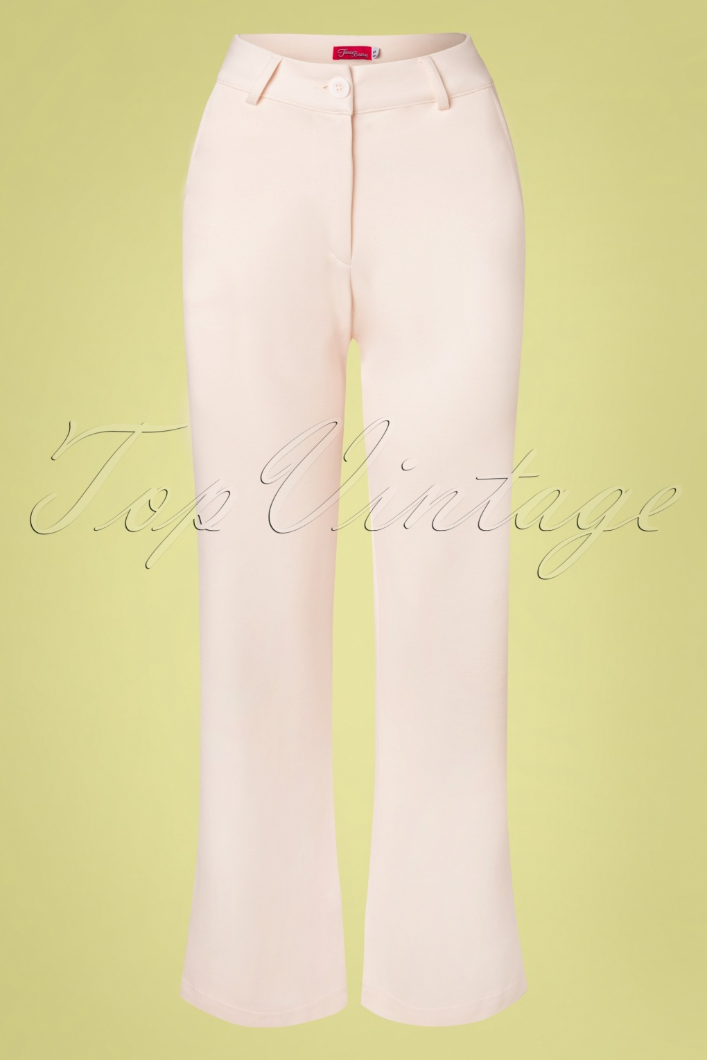 1960s Pants – Top 10 Styles for Women 60s Babs Baggy Trousers in Cloud Pink £24.95 AT vintagedancer.com