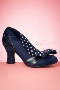 NEW Ruby Shoo Tara Low Heel Tassle Loafers UK3-9 EU36-42 Champagne Blue