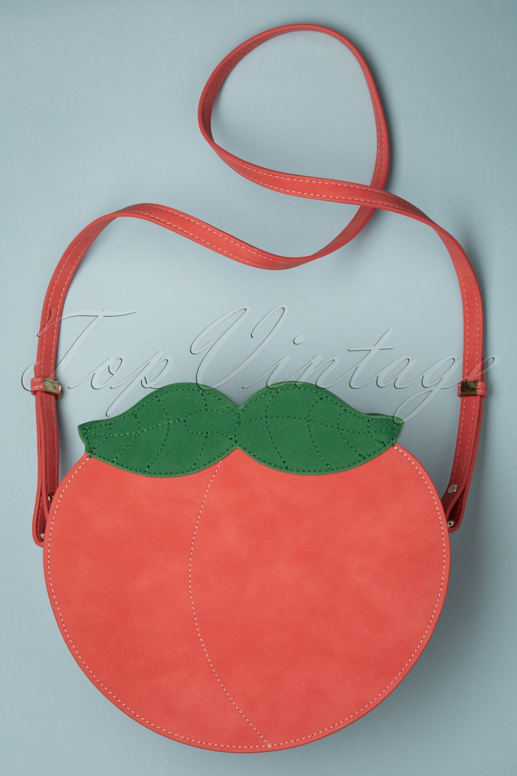 1950s Handbags, Purses, and Evening Bag Styles 50s Peachy Keen Bag in Peach Pink £47.57 AT vintagedancer.com