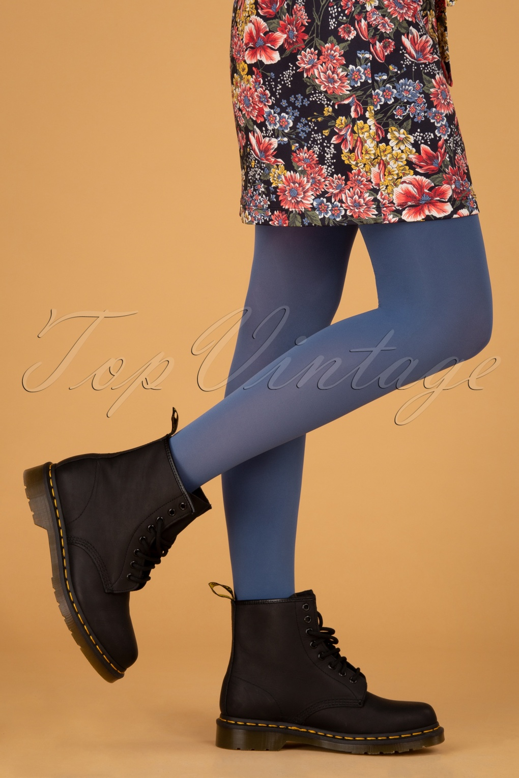60s Mod Clothing Outfit Ideas 60s Tights in Jeanies Jeans £21.23 AT vintagedancer.com